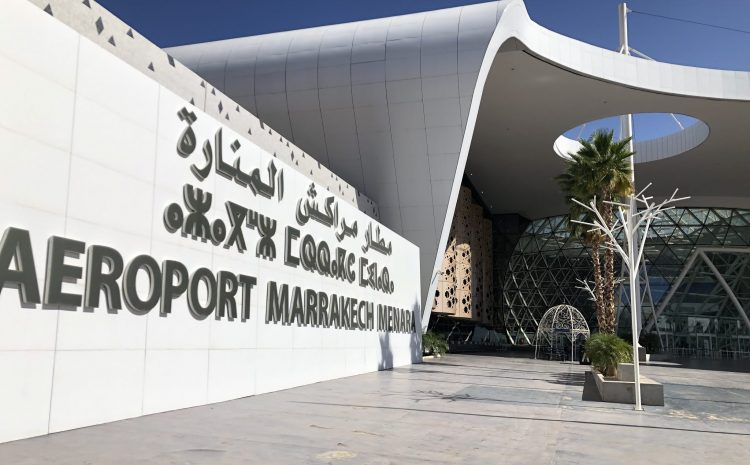 Marrakech airport Morocco find useful